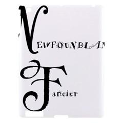 Newfie Fancier Apple iPad 3/4 Hardshell Case