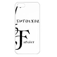 Newfie Fancier Apple iPhone 5 Seamless Case (White)