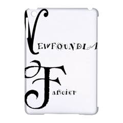 Newfie Fancier Apple iPad Mini Hardshell Case (Compatible with Smart Cover)