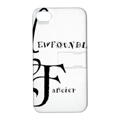 Newfie Fancier Apple iPhone 4/4S Hardshell Case with Stand