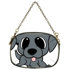 Newfie Gray Cartoon Chain Purses (Two Sides)