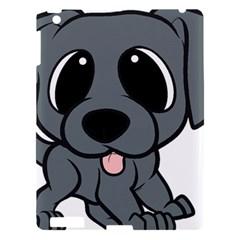 Newfie Gray Cartoon Apple iPad 3/4 Hardshell Case