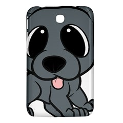 Newfie Gray Cartoon Samsung Galaxy Tab 3 (7 ) P3200 Hardshell Case