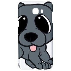 Newfie Gray Cartoon Samsung C9 Pro Hardshell Case