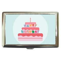 Birthday Cake Cigarette Money Cases