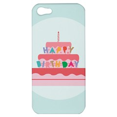 Birthday Cake Apple iPhone 5 Hardshell Case