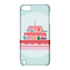 Birthday Cake Apple iPod Touch 5 Hardshell Case with Stand