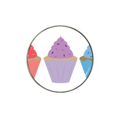 Cupcakes Hat Clip Ball Marker