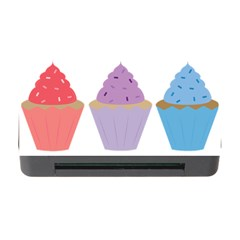 Cupcakes Memory Card Reader with CF