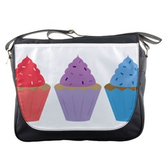 Cupcakes Messenger Bags