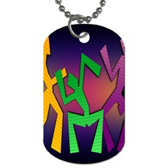 Dance Dance Dance Dog Tag (Two Sides)