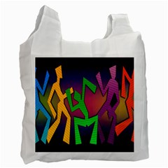 Dance Dance Dance Recycle Bag (One Side)