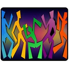 Dance Dance Dance Fleece Blanket (Medium)
