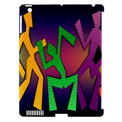 Dance Dance Dance Apple iPad 3/4 Hardshell Case (Compatible with Smart Cover)