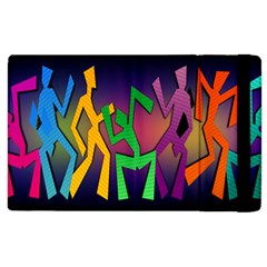 Dance Dance Dance Apple iPad 3/4 Flip Case