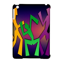Dance Dance Dance Apple iPad Mini Hardshell Case (Compatible with Smart Cover)