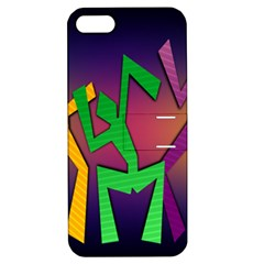 Dance Dance Dance Apple iPhone 5 Hardshell Case with Stand