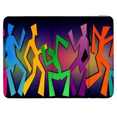 Dance Dance Dance Samsung Galaxy Tab 7  P1000 Flip Case