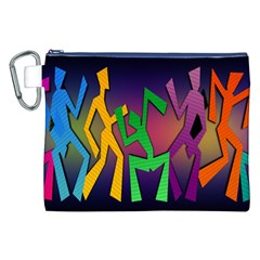 Dance Dance Dance Canvas Cosmetic Bag (XXL)