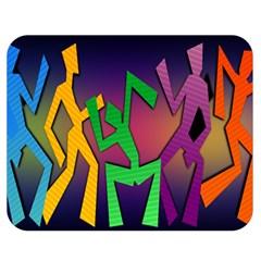 Dance Dance Dance Double Sided Flano Blanket (Medium)