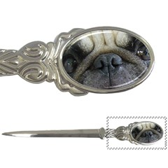 Pug Fawn Eyes Letter Openers