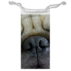 Pug Fawn Eyes Jewelry Bag