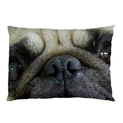 Pug Fawn Eyes Pillow Case (Two Sides)