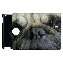 Pug Fawn Eyes Apple iPad 3/4 Flip 360 Case