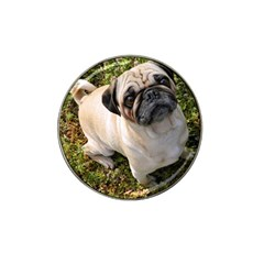 Pug Fawn Full Hat Clip Ball Marker (4 Pack)