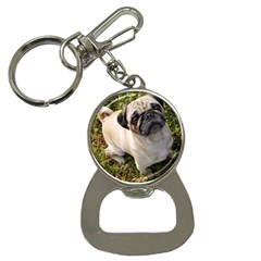 Pug Fawn Full Button Necklaces