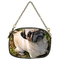 Pug Fawn Full Chain Purses (one Side)
