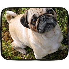 Pug Fawn Full Fleece Blanket (Mini)