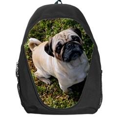 Pug Fawn Full Backpack Bag