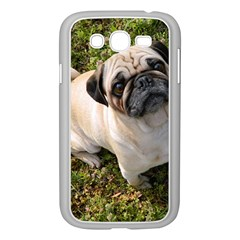 Pug Fawn Full Samsung Galaxy Grand DUOS I9082 Case (White)