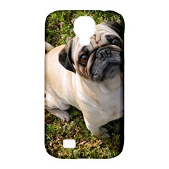 Pug Fawn Full Samsung Galaxy S4 Classic Hardshell Case (PC+Silicone)