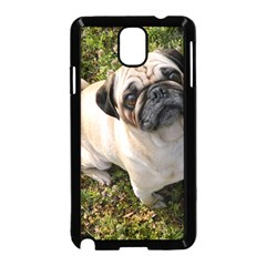 Pug Fawn Full Samsung Galaxy Note 3 Neo Hardshell Case (Black)