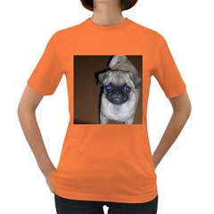 Pug Full 5 Women s Dark T-Shirt