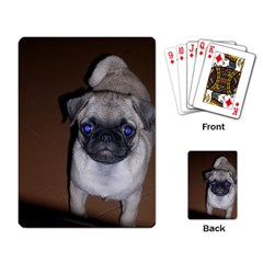 Pug Full 5 Playing Card