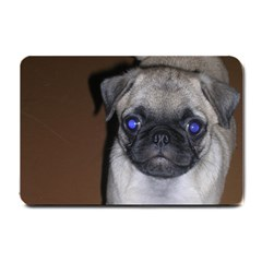 Pug Full 5 Small Doormat