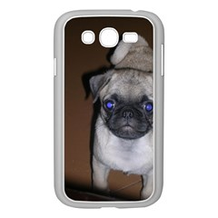 Pug Full 5 Samsung Galaxy Grand DUOS I9082 Case (White)
