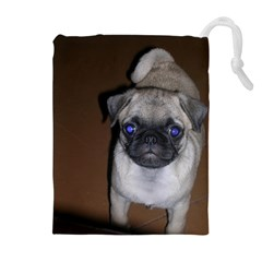 Pug Full 5 Drawstring Pouches (Extra Large)