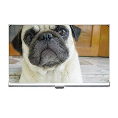 Pug Laying Business Card Holders