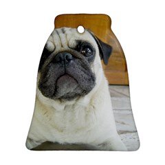 Pug Laying Ornament (Bell)