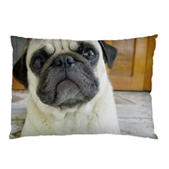 Pug Laying Pillow Case (Two Sides)