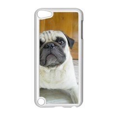 Pug Laying Apple iPod Touch 5 Case (White)
