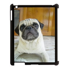 Pug Laying Apple iPad 3/4 Case (Black)