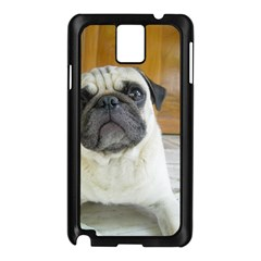 Pug Laying Samsung Galaxy Note 3 N9005 Case (Black)