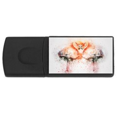 Flamingo Absract USB Flash Drive Rectangular (4 GB)