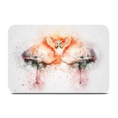 Flamingo Absract Plate Mats