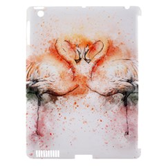 Flamingo Absract Apple iPad 3/4 Hardshell Case (Compatible with Smart Cover)